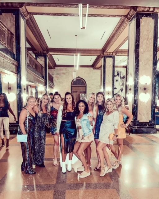 Girls at the Noelle Hotel Nashville
